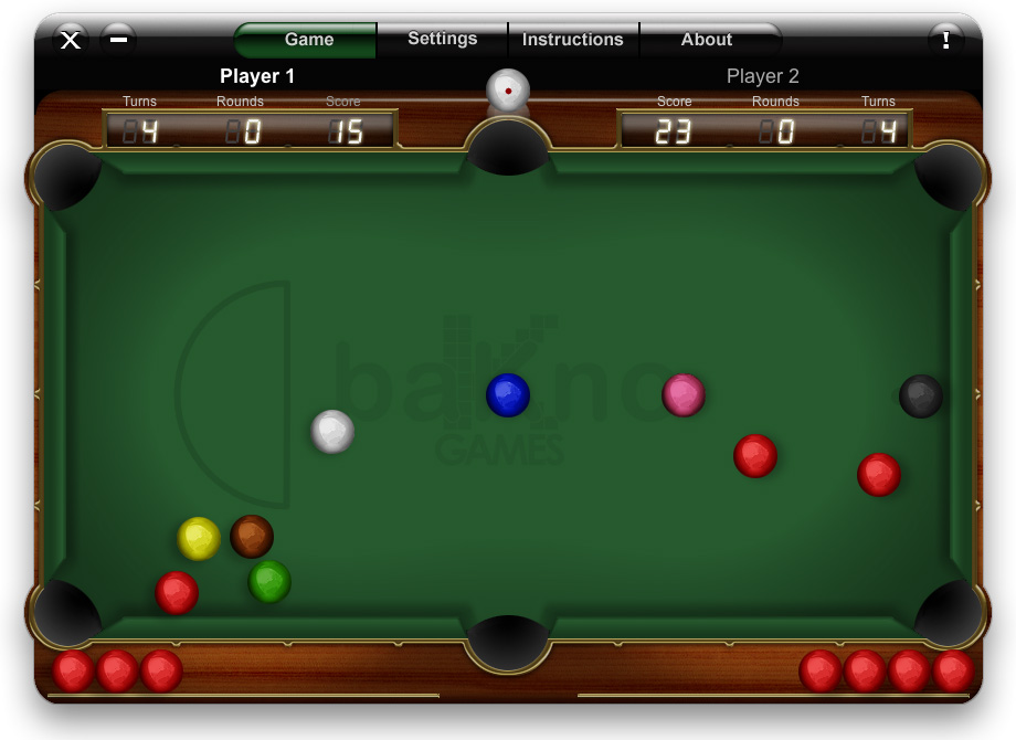 Snooker - Free online games at